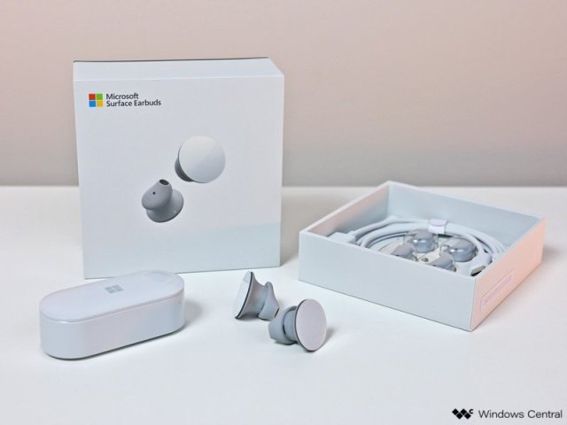 Surface Earbuds Hero Box