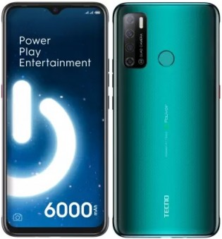 Tecno Spark Power 2 in Ice Jadeite color
