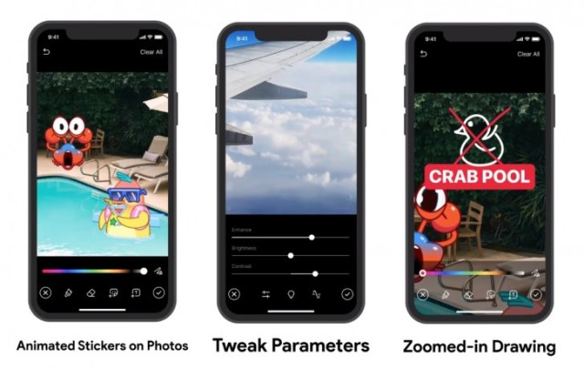 Telegram adds video editor, animated stickers on media and more