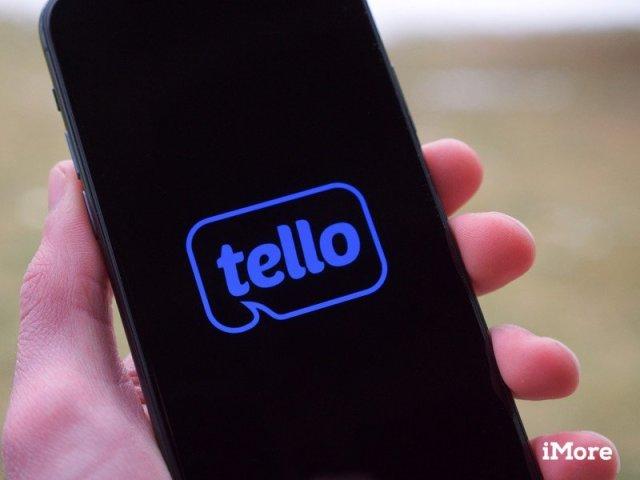 Tello logo on an iPhone 11 Pro