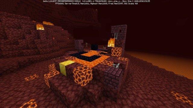 Minecraft Nether Update Beta Ruined Portal