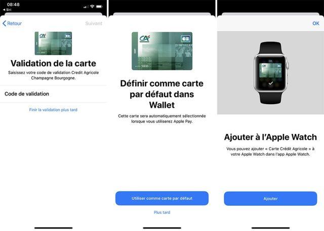 iphone ajouter carte apple pay 3 Comment ajouter une carte et utiliser Apple Pay sur iPhone, Apple Watch, Mac et iPad
