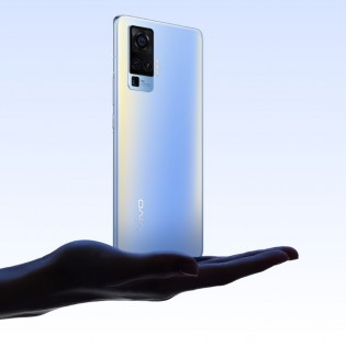 vivo X50 Pro in Blue and Black