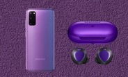 Limited edition BTS purple Samsung Galaxy S20+ and Buds+ leak