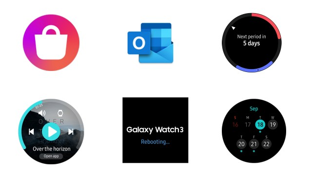Samsung Galaxy Watch 3 New Apps Features