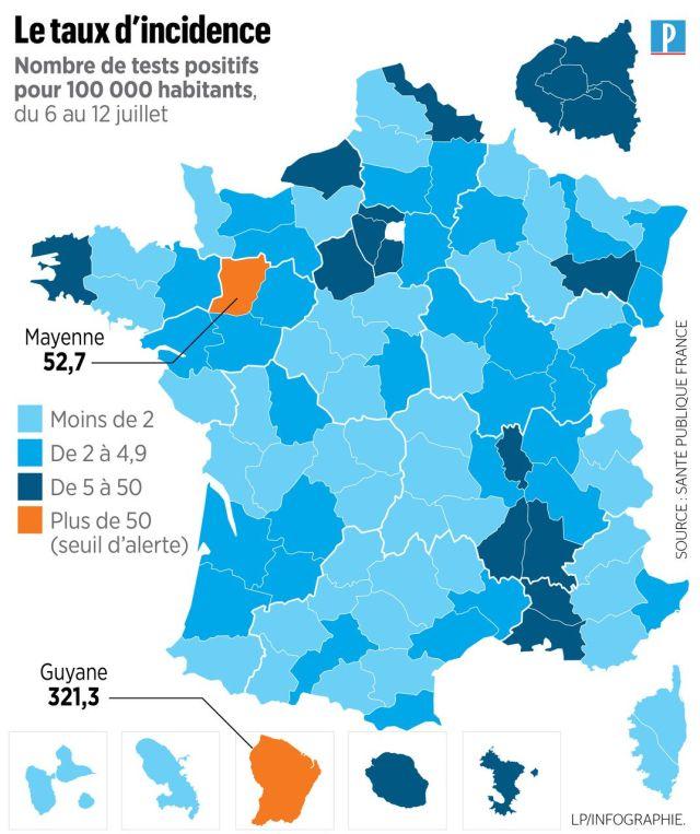 Covid-19 : comment les autorités font face au rebond de l'épidémie en Mayenne