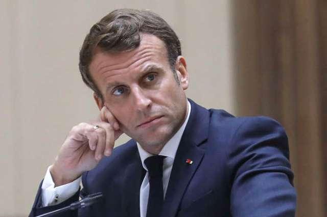 Emmanuel Macron, à Nouakchott (Mauritanie), le 30 juin.