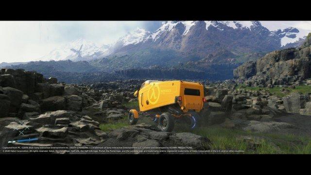 Death Stranding PC Port - Truck