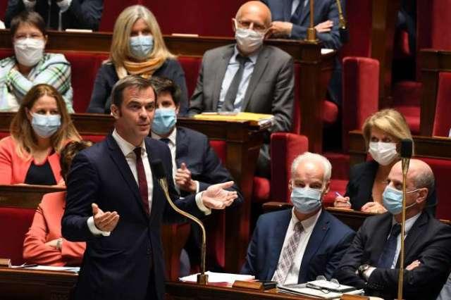 Olivier Véran, lors des questions au gouvernement, le 21 juillet 2020.