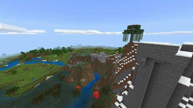 Minecraft Mountain Update Landscape