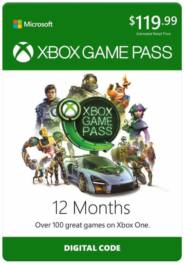 Xbox Game Pass 12-month subscription