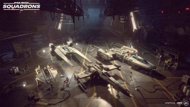 Star Wars Squadrons Rebel Hangar