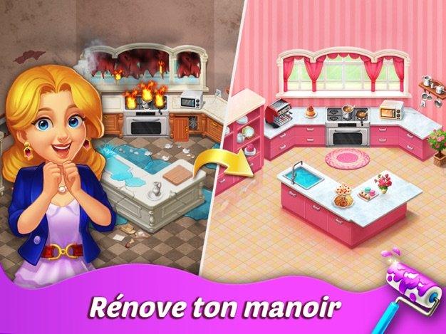 Matchington Mansion app - Jeu du jour : Matchington Mansion (iPhone & iPad - gratuit)