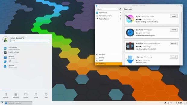 KDE Plasma 5.19