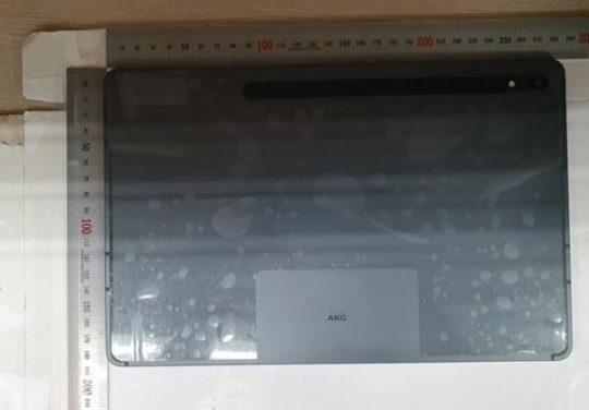 Samsung Galaxy Tab S7 Live Image Rear Design