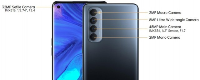 Oppo Reno4 Pro unveiled with Snapdragon 720G, 6.5'' 90 Hz AMOLED screen, 65 W fast charging