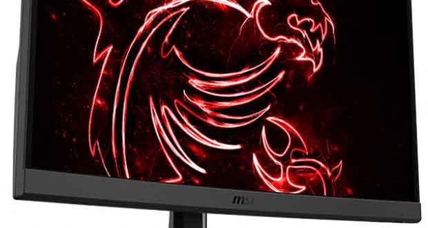 Moniteur gaming Optix G32CQ4 de MSI