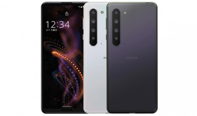 Sharp Aquos R5G launched in Taiwan