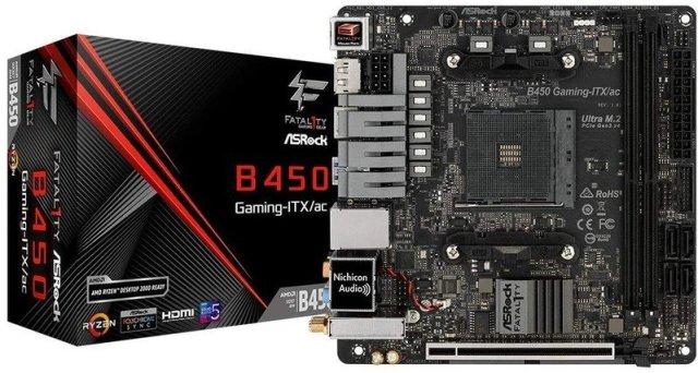 ASRock B450 Gaming-ITX/AC