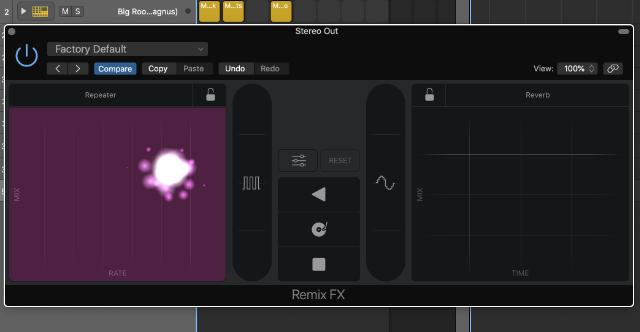 Remix FX in Logic Pro X