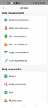 Amazfit's Android app needs redesigning and decluttering