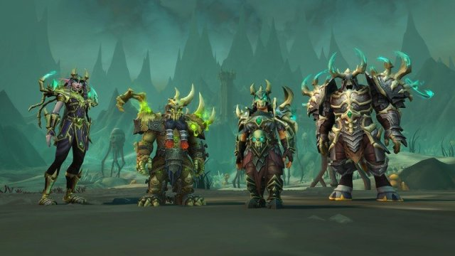 Wow Shadowlands Necrolords Armor