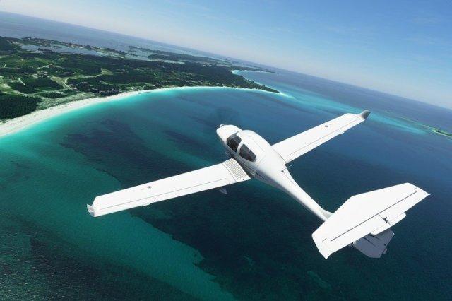 Microsoft Flight Simulator 2020 Diamond DA 40