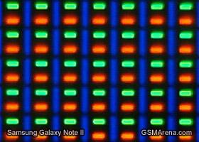 Super AMOLED up close: full RGB on Galaxy Note II