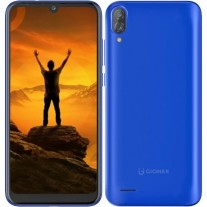Gionee Max in Royal Blue color