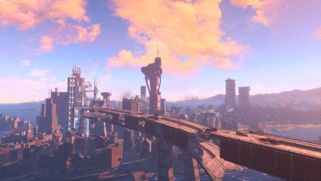 Fallout 4 Downtown