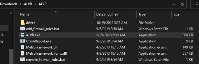 Quest Alvr Windows Launch