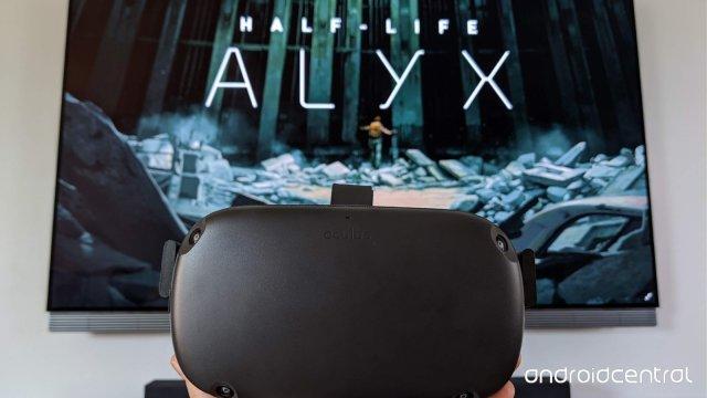 Oculus Quest Half Life Alyx Hero