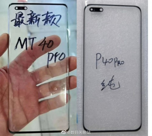 Huawei Mate40 Pro display leaks, will sport a more compact punch hole