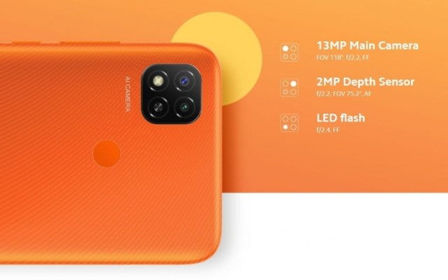 Redmi 9 hits India, it is the Redmi 9C with dual cameras