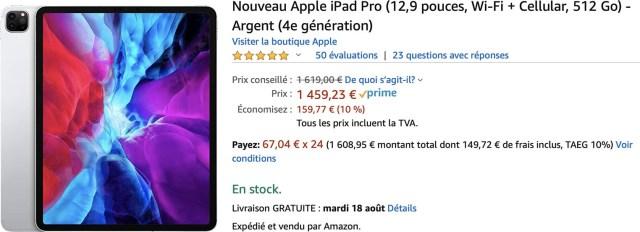 iPad Pro 12,9 Amazon