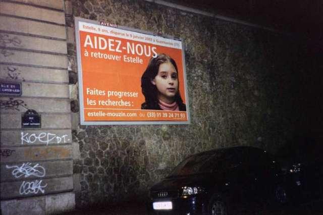 Estelle Mouzin avait été enlevée à Guermantes (Seine-et-Marne) le 9janvier2003.