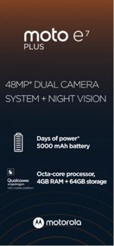 Moto E7 Plus specs leak: Snapdragon 460 SoC and 48MP dual camera