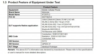 FCC listing