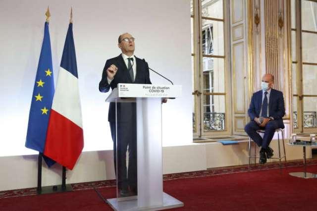 Le premier ministre Jean Castex lors d'une conférence de presse à Matignon, Paris, le 27 août 2020.