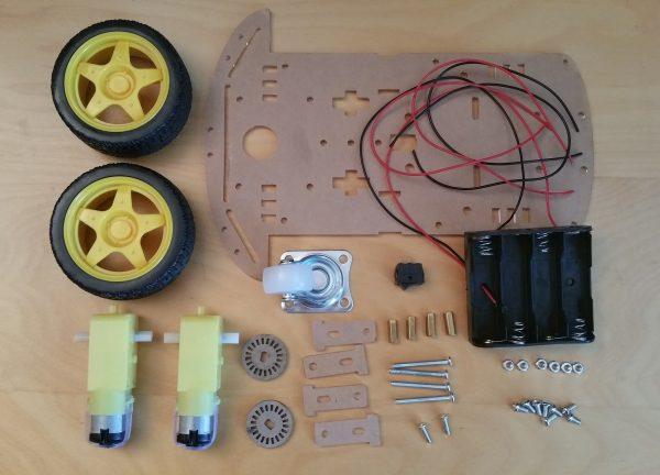 Raspberry Pi Robot Kit Overview