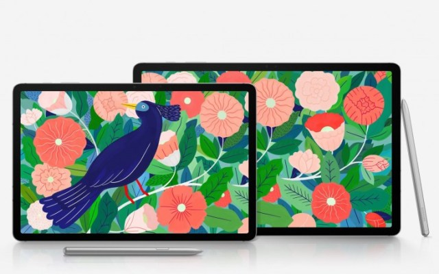 Samsung Galaxy Tab S7 and Tab S7+ pop up on Google Play Console, new images appear