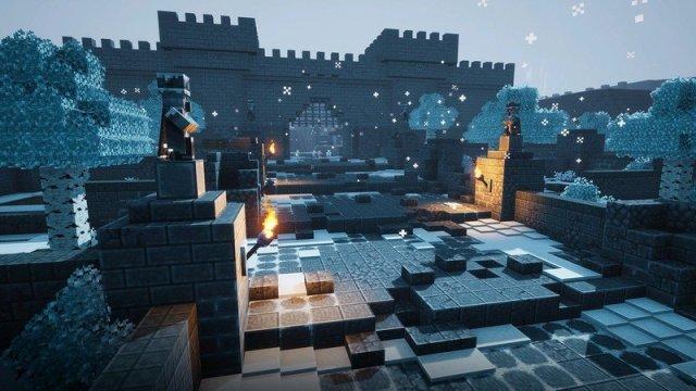 Minecraft Dungeons Dlc Creeping Winter Leak