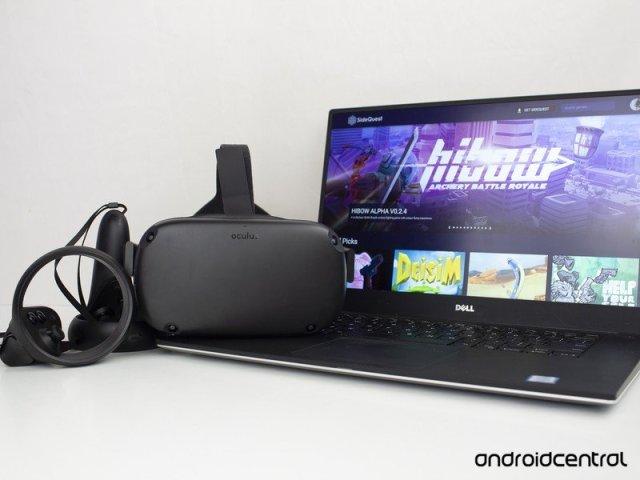 Oculus Quest Sidequest Vr