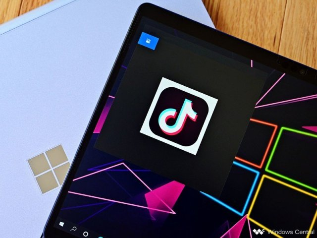 Tiktok Microsoft Logo Hero