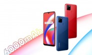 Realme C12 debuts with 6,000 mAh battery, Helio G35 and triple camera