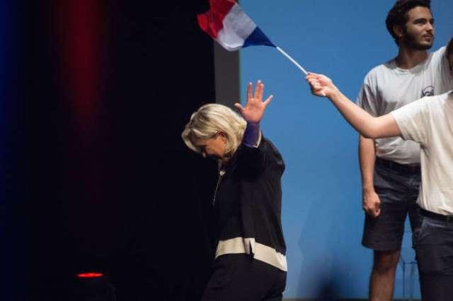 Marine Le Pen, à Fréjus (Var), en septembre 2019.