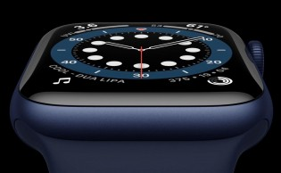 Apple Watch Series 6 in new Blue and Product Red