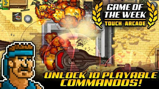kick ass commandos capture jeu ipa iphone ipad