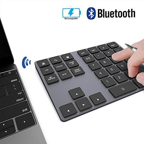 41fhNTPxHjL - Clavier Numérique Hub Bluetooth USB-C pour MacBook Pro