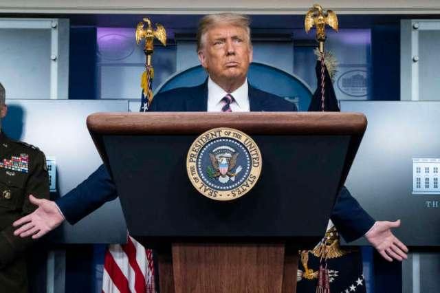 Donald Trump, le 18 septembre 2020, à la Maison Blanche.